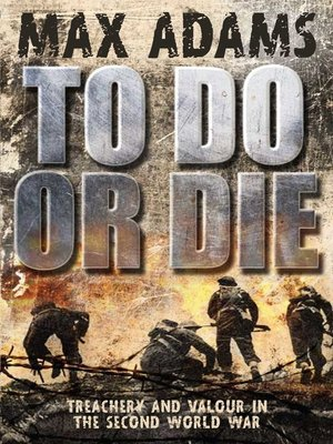 cover image of To Do or Die