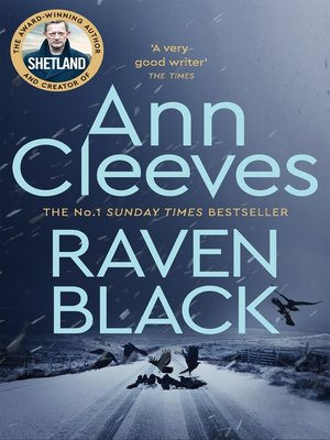cover image of Raven Black
