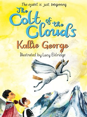 cover image of The Colt of the Clouds