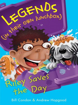 cover image of Riley Saves the Day