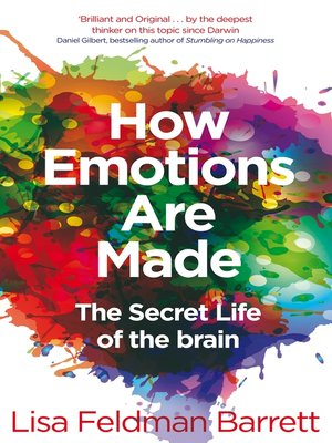cover image of How Emotions Are Made