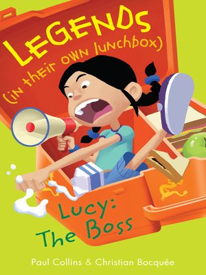 cover image of Lucy the Boss