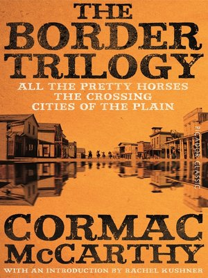cover image of The Border Trilogy