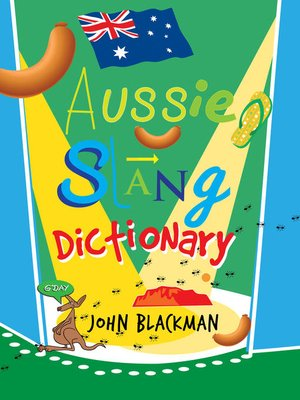 cover image of Aussie Slang Dictionary