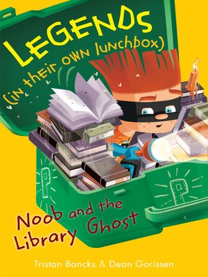 cover image of Noob and the Library Ghost