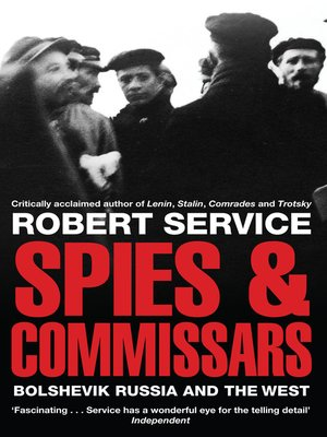 cover image of Spies and Commissars