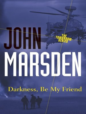 cover image of Darkness, Be My Friend