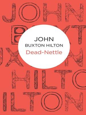cover image of Dead-Nettle