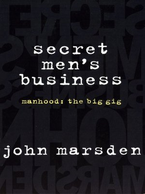 cover image of Secret Men's Business