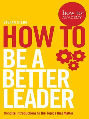 cover image of How to Be a Better Leader
