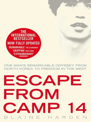 cover image of Escape from Camp 14