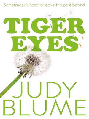 cover image of Tiger Eyes