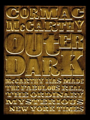 cover image of Outer Dark