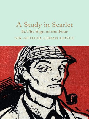 cover image of A Study in Scarlet and the Sign of the Four