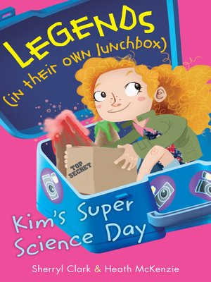 cover image of Kim's Super Science Day