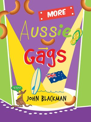 cover image of More Aussie Gags