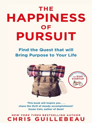 cover image of The Happiness of Pursuit