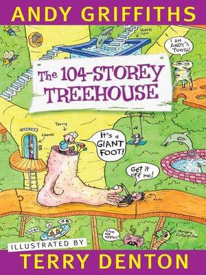 cover image of The 104-Storey Treehouse
