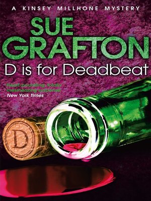 cover image of D is for Deadbeat