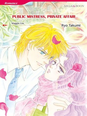 cover image of Public Mistress, Private Affair (Mills & Boon)