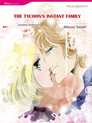 cover image of The Tycoon's Instant Family (Mills & Boon)