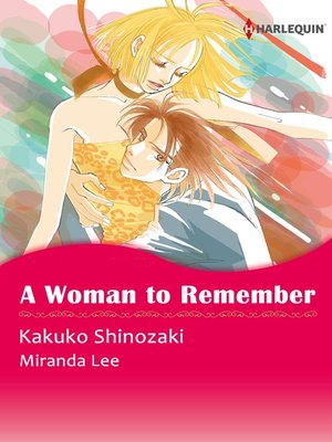 cover image of A Woman to Remember