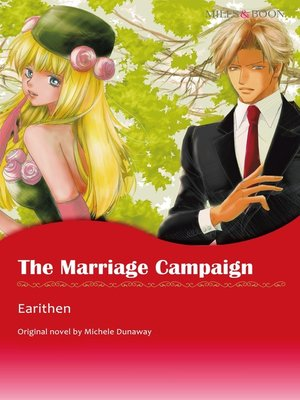 cover image of The Marriage Campaign (Mills & Boon)