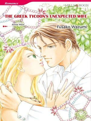 cover image of The Greek Tycoon's Unexpected Wife (Mills & Boon)