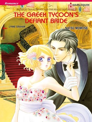 cover image of The Greek Tycoon's Defiant Bride