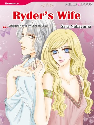 cover image of Ryder's Wife (Mills & Boon)