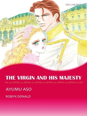 cover image of The Virgin and His Majesty (Mills & Boon)