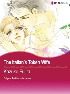 cover image of The Italian's Token Wife