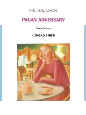 cover image of Pagan Adversary (Mills & Boon)