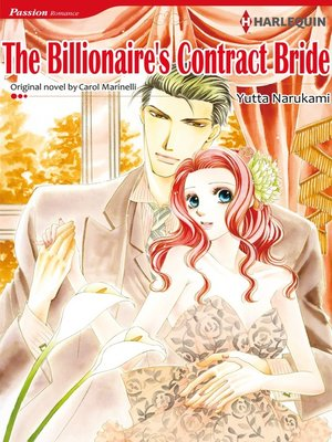 cover image of The Billionaire's Contract Bride