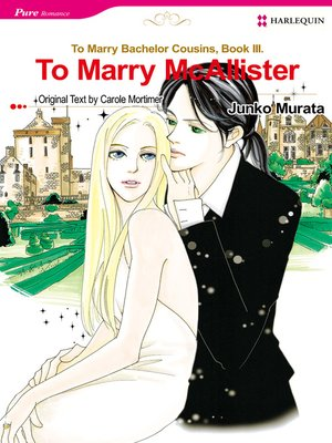cover image of To Marry McAllister