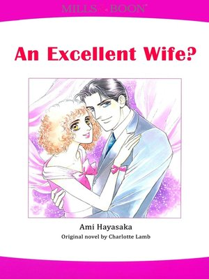 cover image of An Excellent Wife? (Mills & Boon)