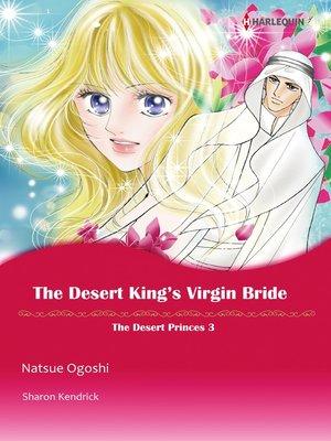cover image of The Desert King's Virgin Bride