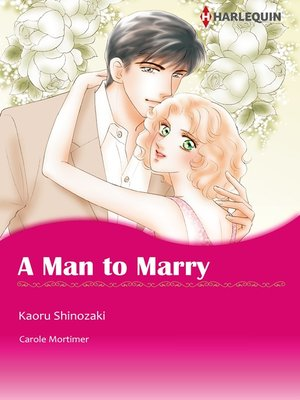 cover image of A Man to Marry