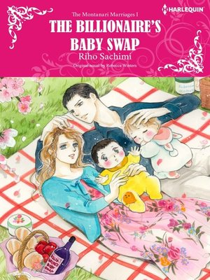 cover image of The Billionaire's Baby Swap