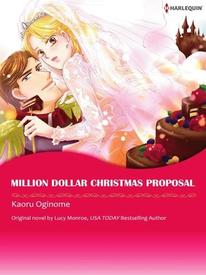 cover image of Million Dollar Christmas Proposal