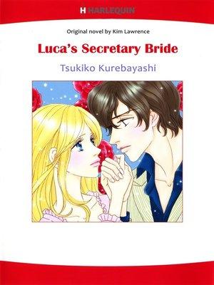 cover image of Luca's Secretary Bride