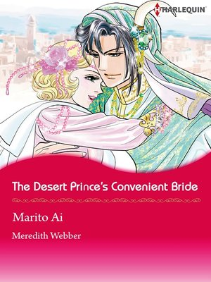 cover image of The Desert Prince's Convenient Bride