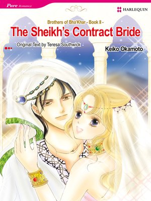 cover image of The Sheikh's Contract Bride