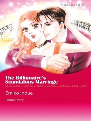 cover image of The Billionaire's Scandalous Marriage
