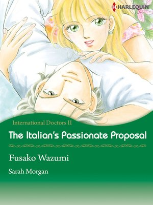 cover image of The Italian's Passionate Proposal