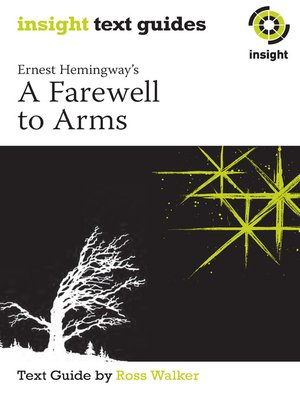a farewell to arms style analysis Ernest hemingway's ''a farewell to arms'' is considered by some critics to be the best novel written in the wwi era analysis of characters and style.