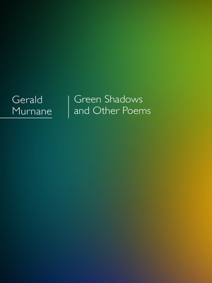 cover image of Green Shadows