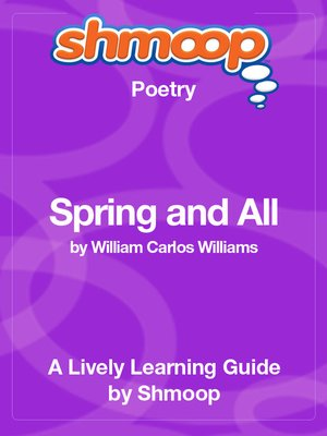 cover image of Spring and All