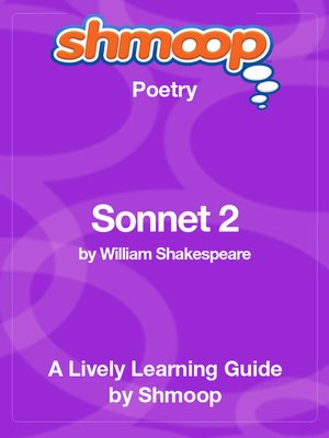 cover image of Sonnet 2