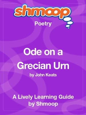 cover image of Ode on a Grecian Urn